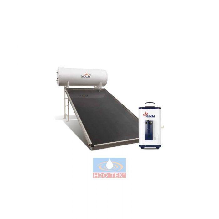 Calentador de agua - combo solar solei tanque 150 litros