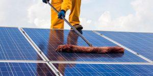 Limpieza de energía fotovoltaica