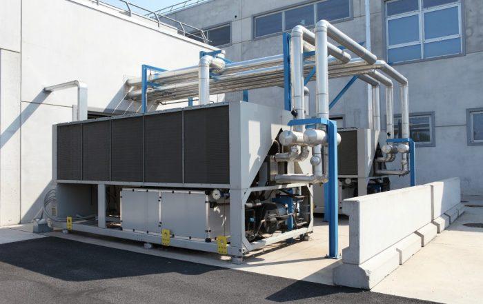 Energía solar con tecnología fotovoltaica para alimentación de clima industrial o casero